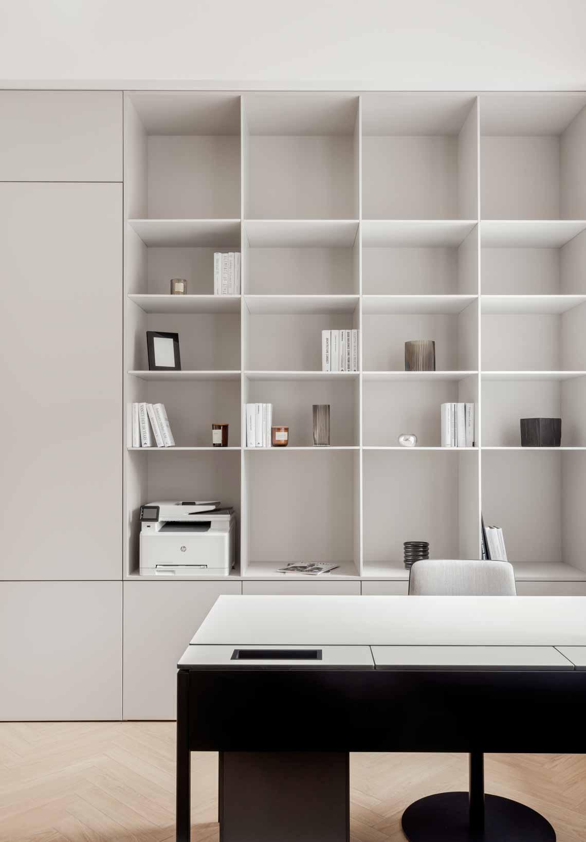 Dự án FG OFF – Một văn phòng không gian hình học màu cam -8