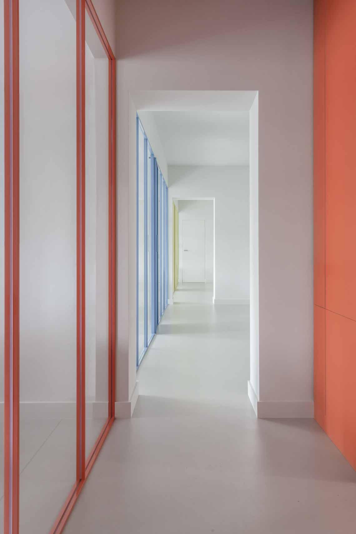 Dự án FG OFF – Một văn phòng không gian hình học màu cam -13