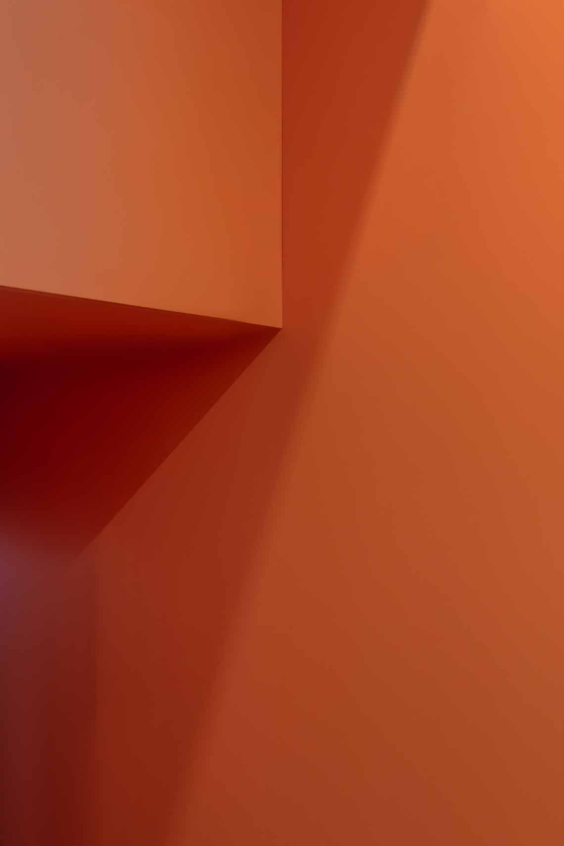 Dự án FG OFF – Một văn phòng không gian hình học màu cam -28