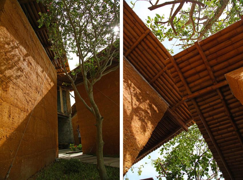 Không gian phục vụ cộng đồng, được làm từ vật liệu địa phương ở Hà Tĩnh-07