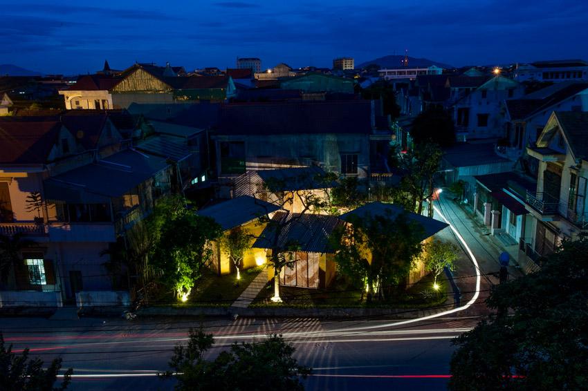 Không gian phục vụ cộng đồng, được làm từ vật liệu địa phương ở Hà Tĩnh-10