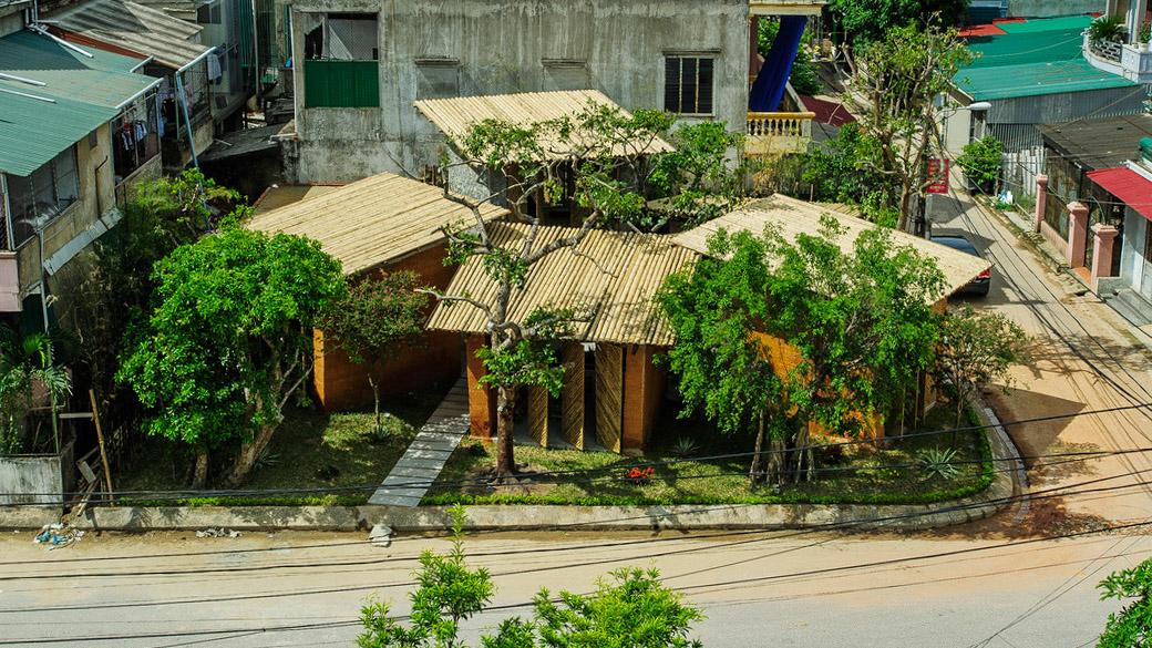 Không gian phục vụ cộng đồng, được làm từ vật liệu địa phương ở Hà Tĩnh-1