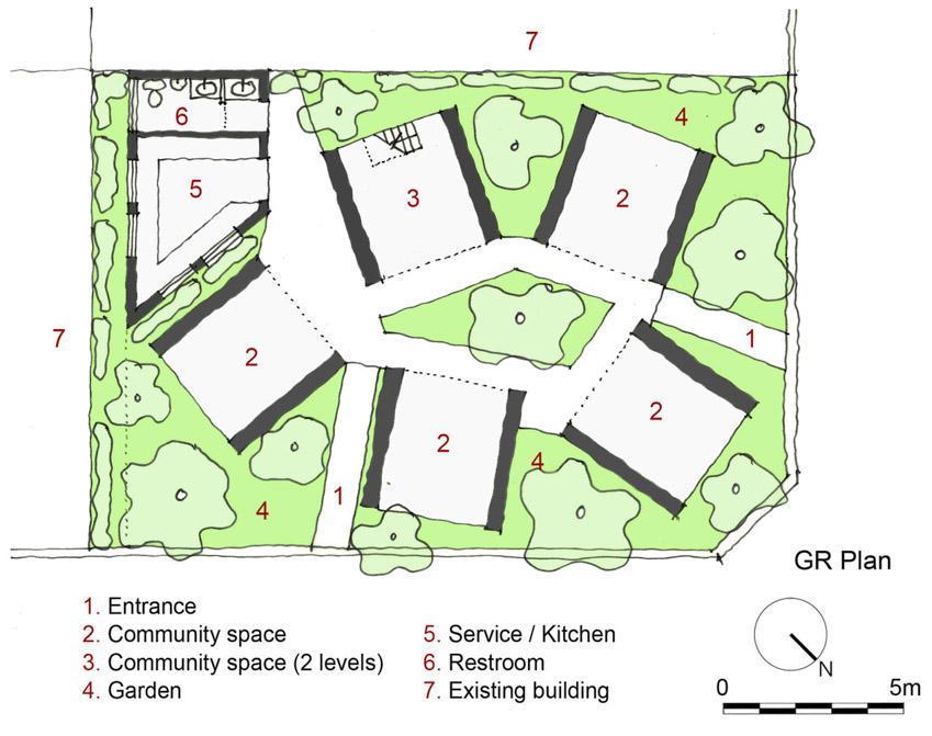 Không gian phục vụ cộng đồng, được làm từ vật liệu địa phương ở Hà Tĩnh-23