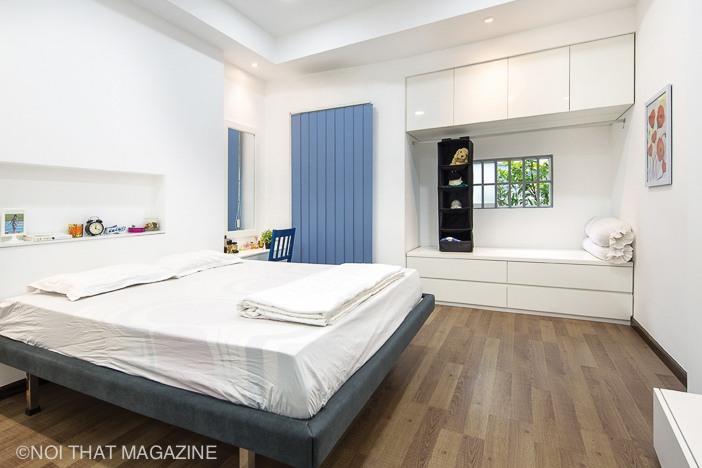 Khoảng bay - window trong phòng ngủ sẽ trở thành chỗ của em bé trong tương lai