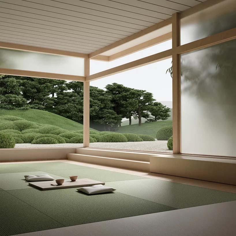 Bộ sưu tập siêu thực về 'Khu vườn Nhật Bản' 03