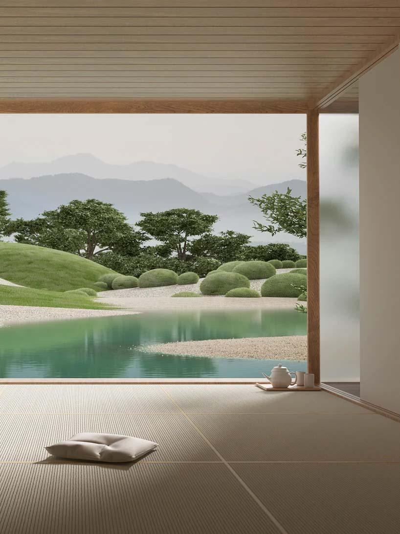 Bộ sưu tập siêu thực về 'Khu vườn Nhật Bản' - 07