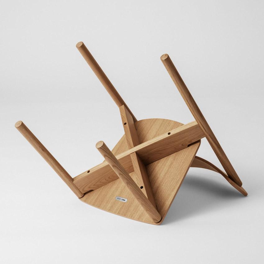 Chiếc ghế đan chéo độc đáo có thể dễ dàng tháo lắp, sửa chữa và tái chế-10