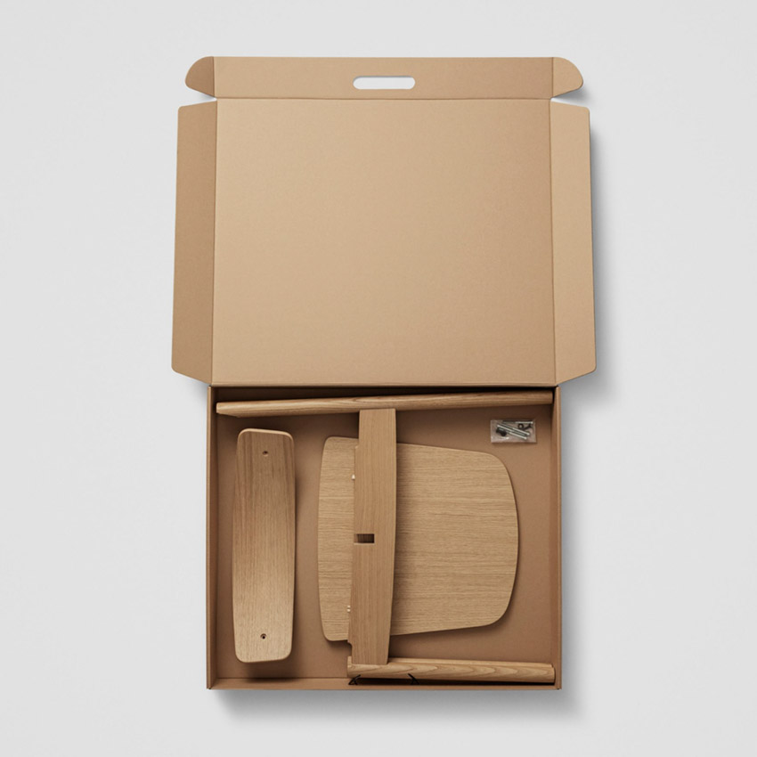 Chiếc ghế đan chéo độc đáo có thể dễ dàng tháo lắp, sửa chữa và tái chế-3