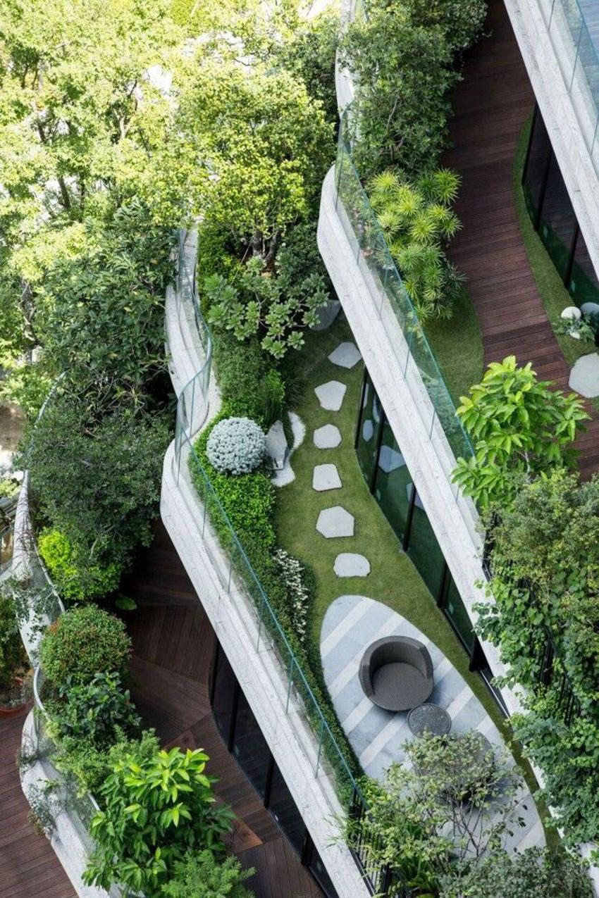 Tòa nhà tháp xoắn chứa hàng chục ngàn cây xanh ở Đài Bắc - 3