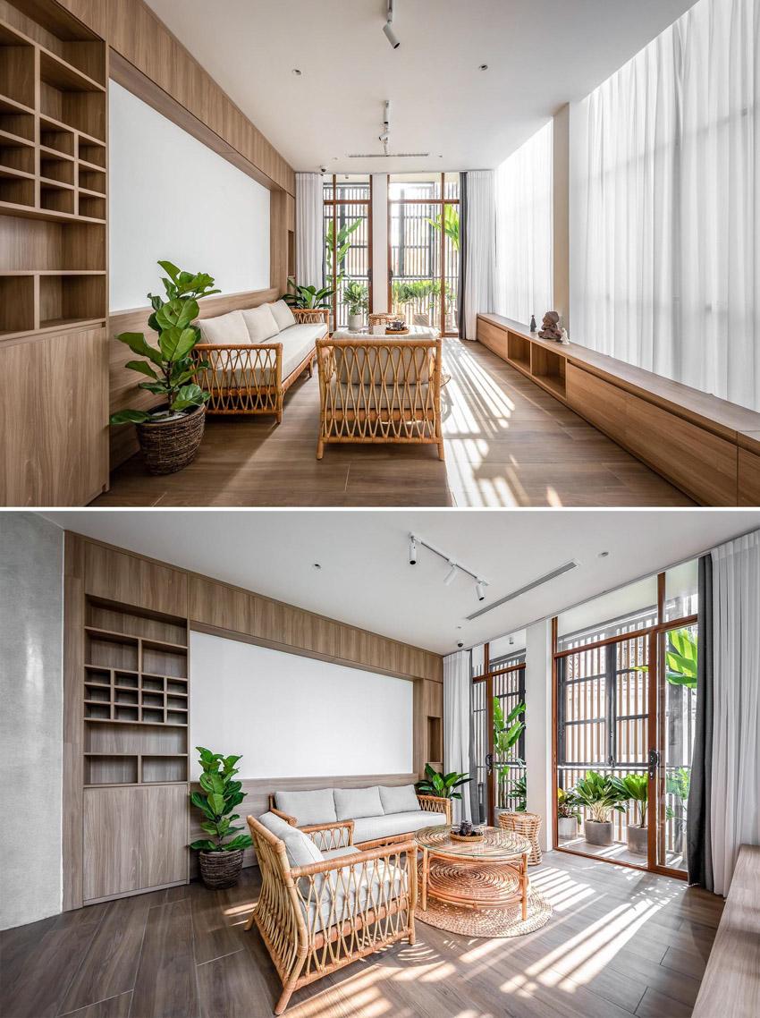 Cửa sổ vượt cỡ tạo nét thiết kế độc đáo cho ngôi nhà ở Sài Gòn-17