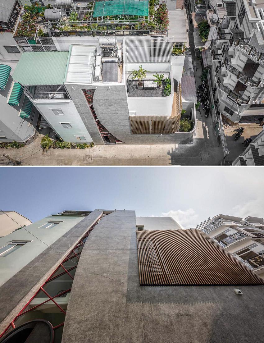 Cửa sổ vượt cỡ tạo nét thiết kế độc đáo cho ngôi nhà ở Sài Gòn - 4