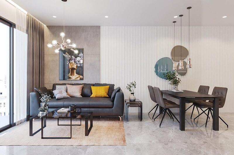 Điểm khác biệt giữa phong cách thiết kế nội thất hiện đại và Scandinavian - 1