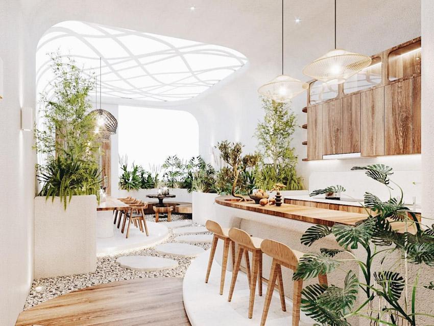 Căn nhà đẹp như mơ 345m2 thiết kế không gian mở, đón thiên nhiên vào nhà - 5