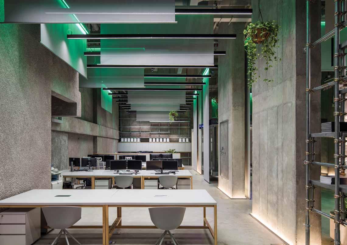 Định nghĩa mới về chiếu sáng văn phòng năm 2021 -8