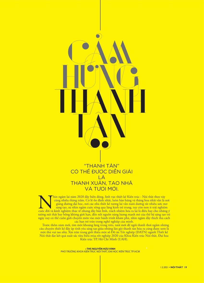 Tạp chí Nội Thất: Đónmùaxanhlộcmới - 3