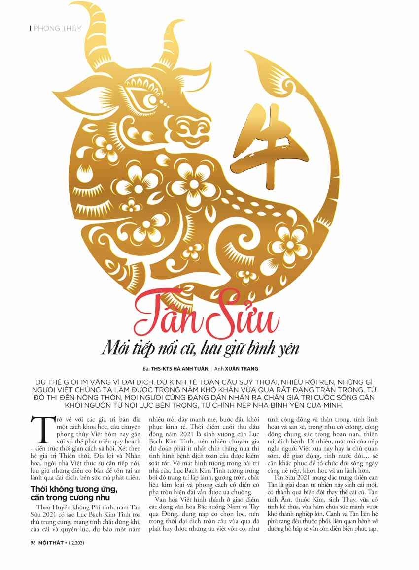 Tạp chí Nội Thất: Đónmùaxanhlộcmới - 11