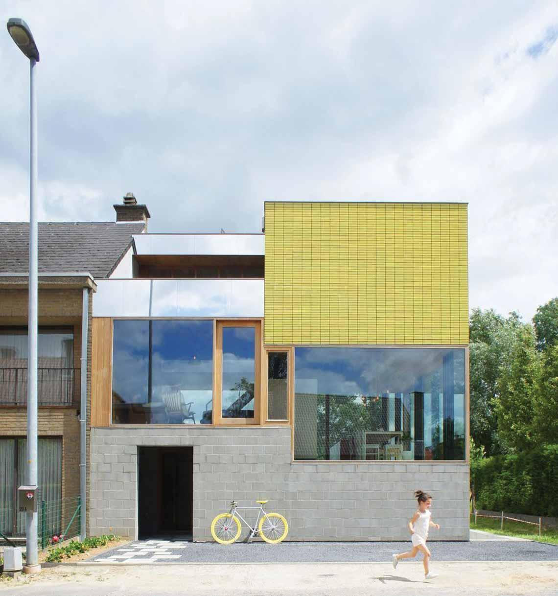 Màu của năm 2021 Pantone: Vàng và xám trong kiến trúc - 1