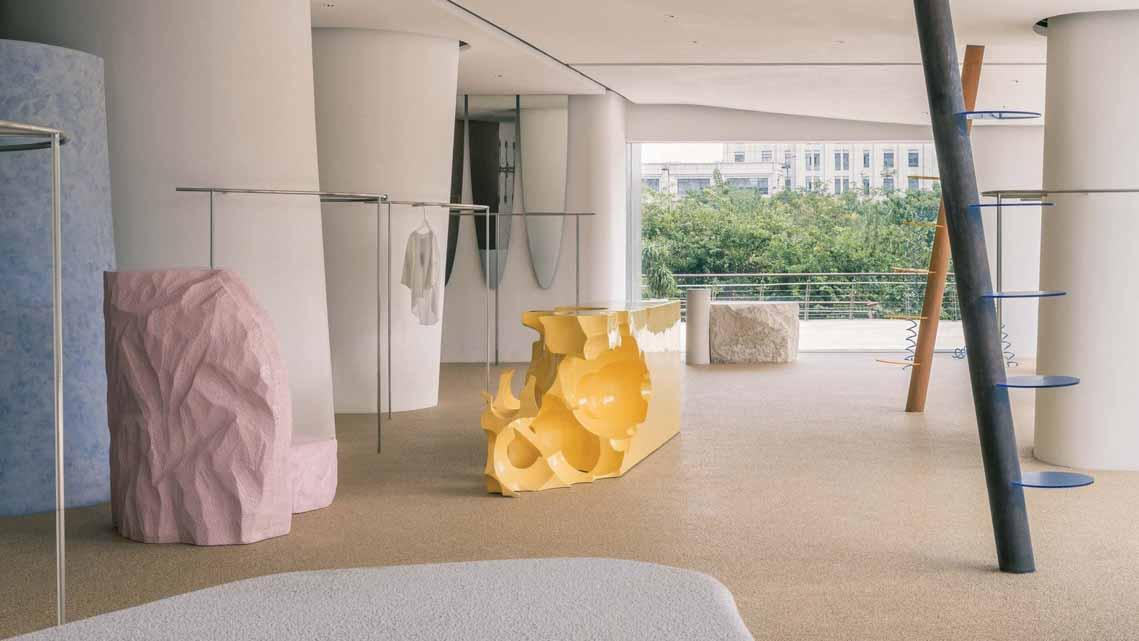 Màu của năm 2021 Pantone: Vàng và xám trong kiến trúc - 6