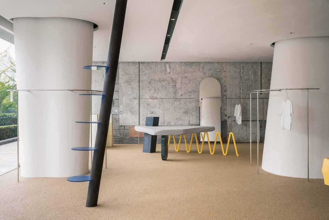 Màu của năm 2021 Pantone: Vàng và xám trong kiến trúc - 7
