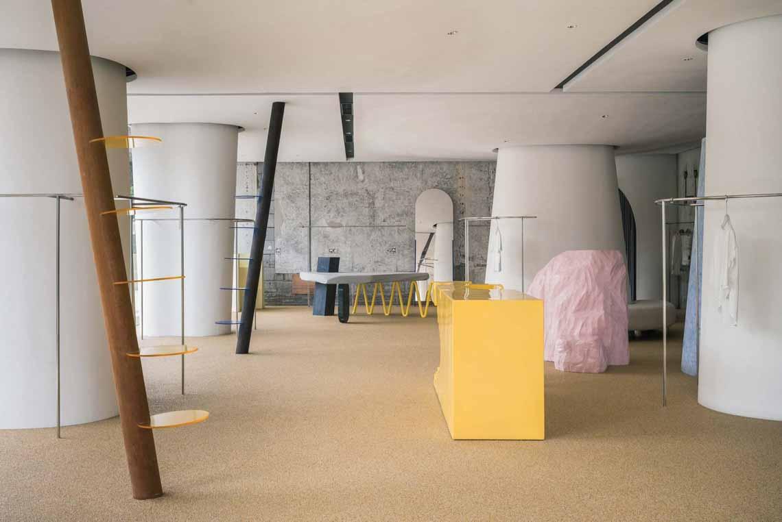 Màu của năm 2021 Pantone: Vàng và xám trong kiến trúc - 8