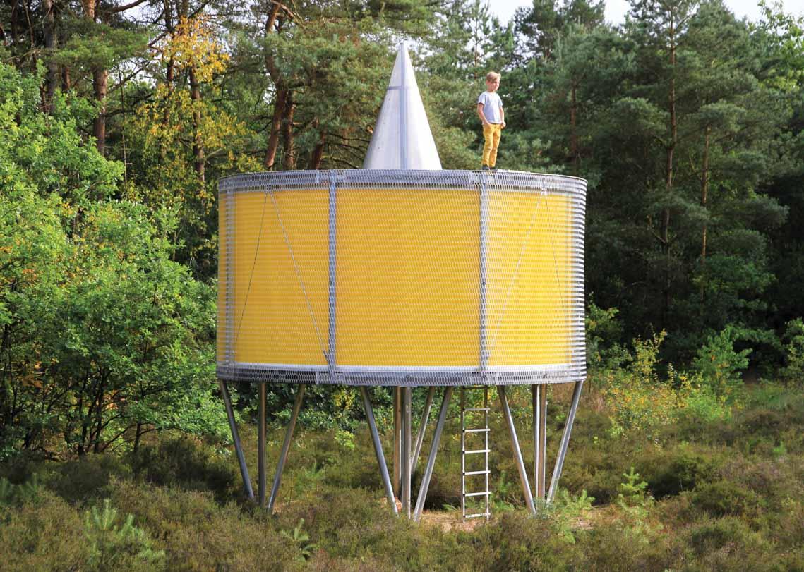 Màu của năm 2021 Pantone: Vàng và xám trong kiến trúc - 10