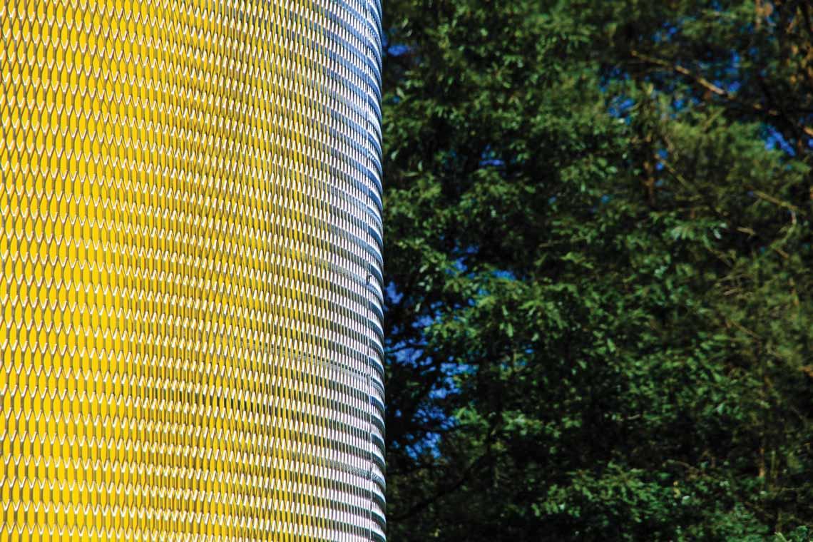 Màu của năm 2021 Pantone: Vàng và xám trong kiến trúc - 11