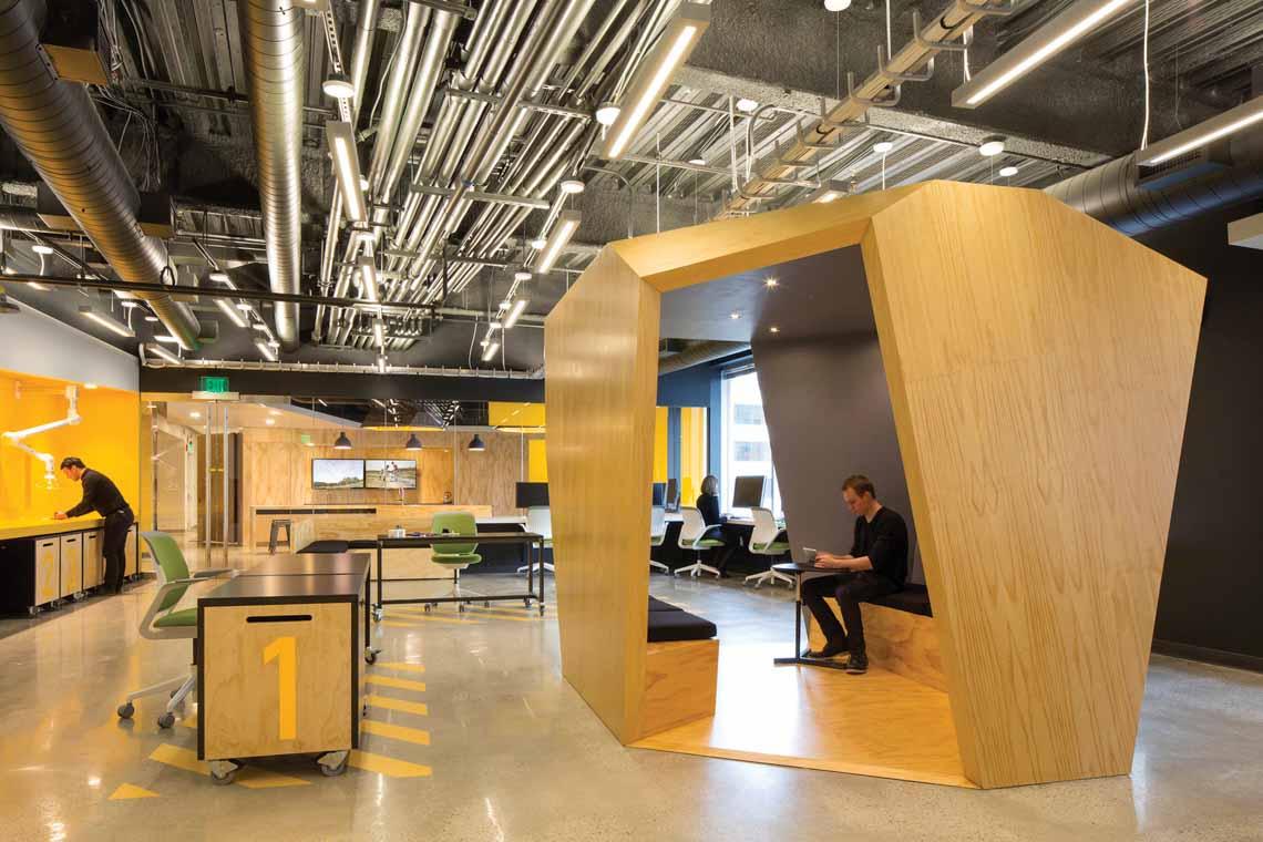 Màu của năm 2021 Pantone: Vàng và xám trong kiến trúc - 23