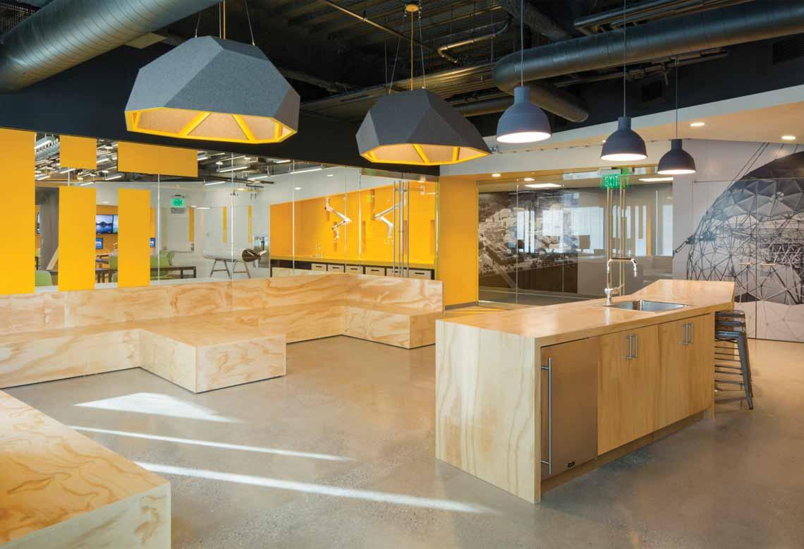 Màu của năm 2021 Pantone: Vàng và xám trong kiến trúc - 27