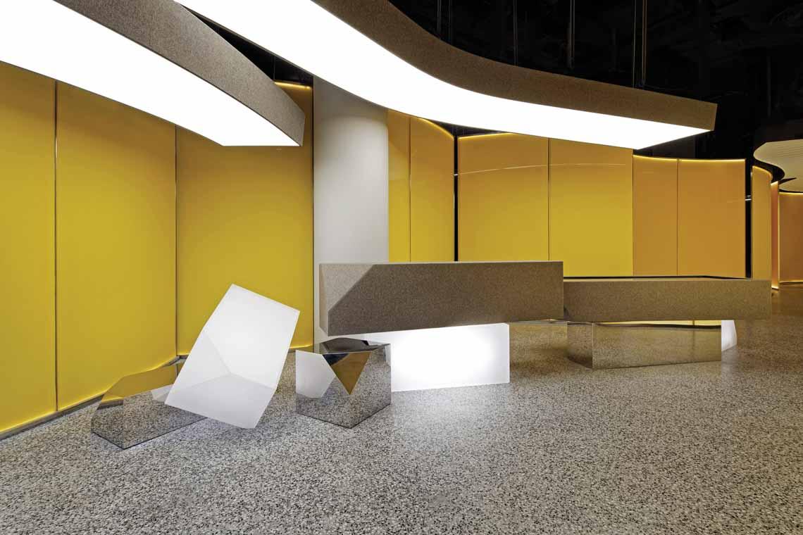 Màu của năm 2021 Pantone: Vàng và xám trong kiến trúc - 33