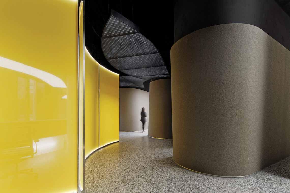 Màu của năm 2021 Pantone: Vàng và xám trong kiến trúc - 34
