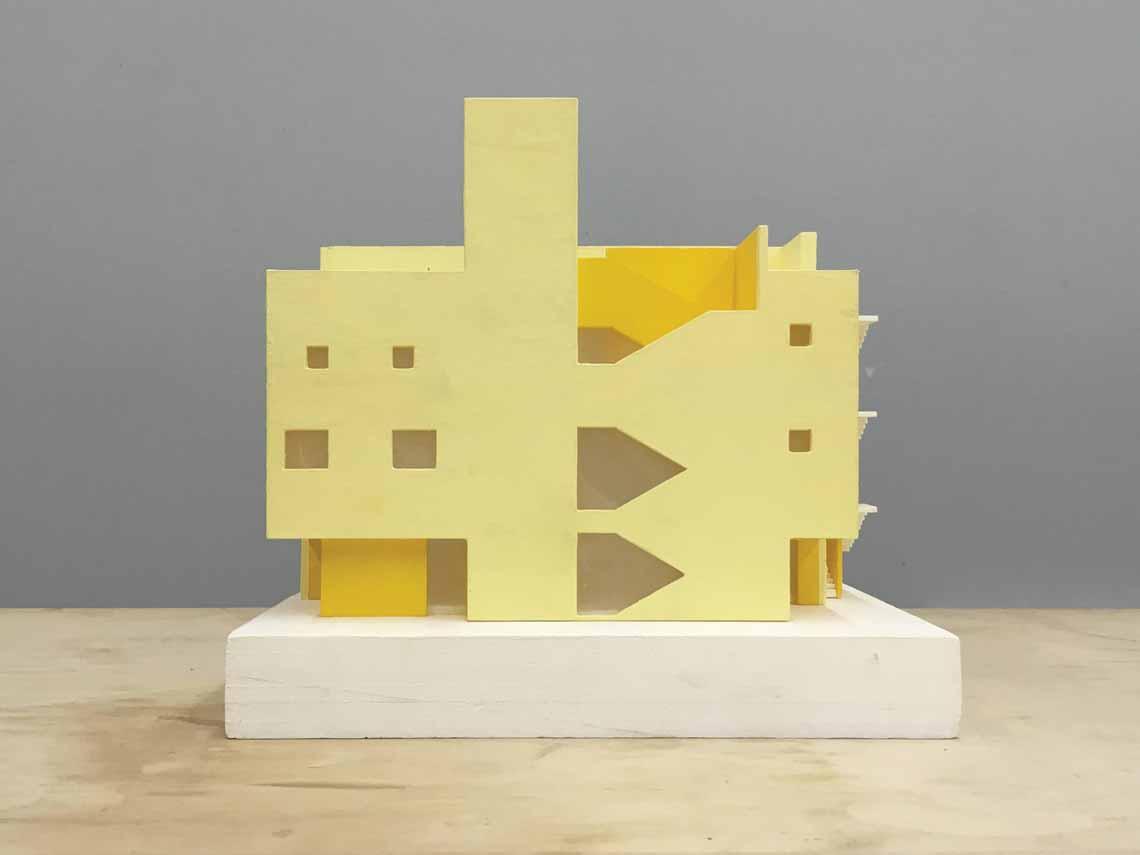 Màu của năm 2021 Pantone: Vàng và xám trong kiến trúc - 41