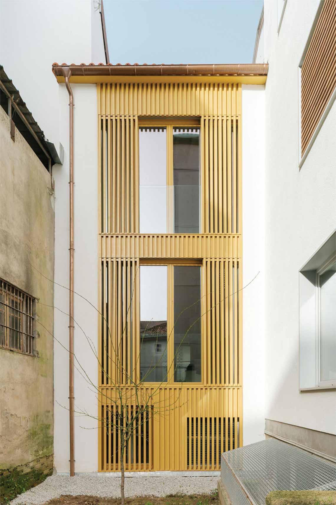 Màu của năm 2021 Pantone: Vàng và xám trong kiến trúc - 43