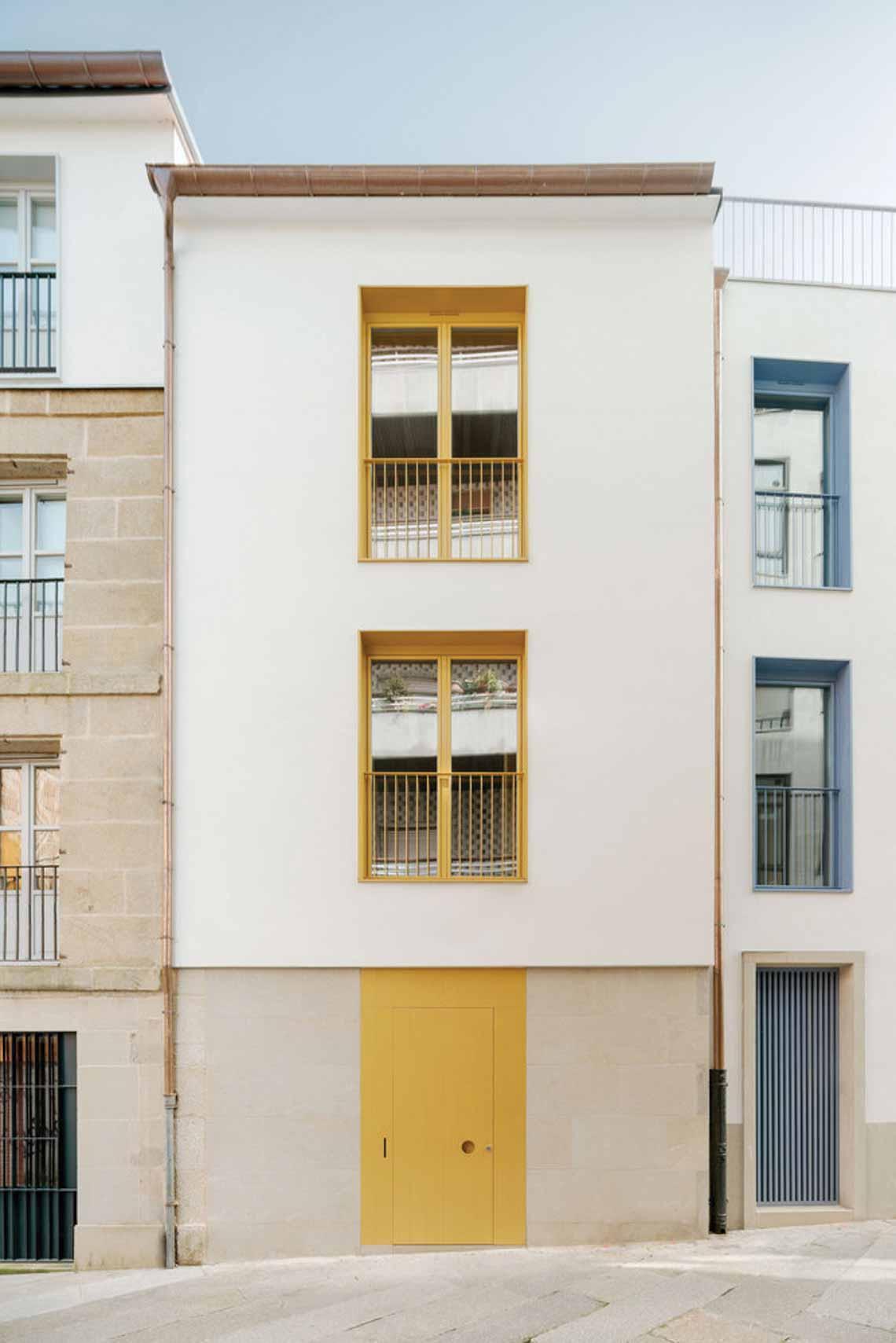 Màu của năm 2021 Pantone: Vàng và xám trong kiến trúc - 44