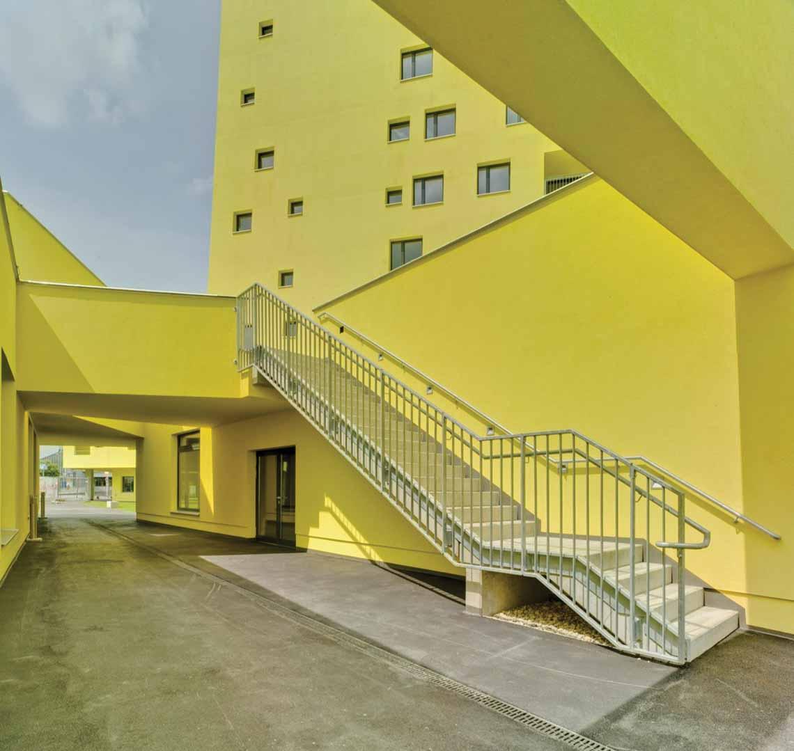 Màu của năm 2021 Pantone: Vàng và xám trong kiến trúc - 45