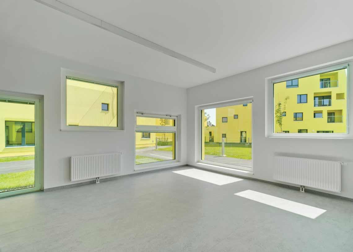 Màu của năm 2021 Pantone: Vàng và xám trong kiến trúc - 47