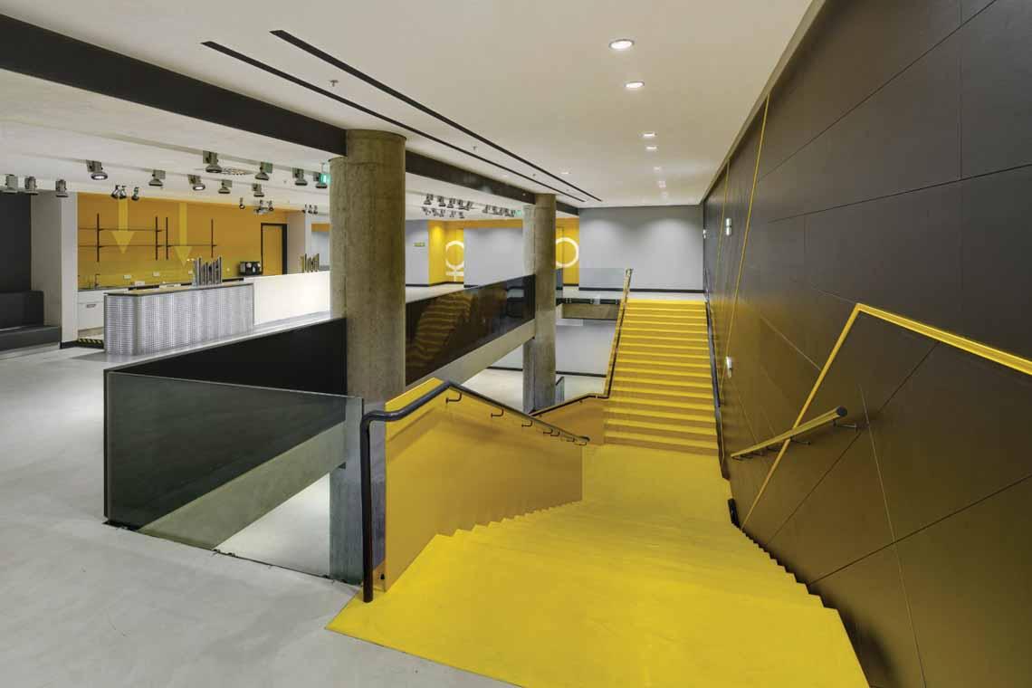 Màu của năm 2021 Pantone: Vàng và xám trong kiến trúc - 61