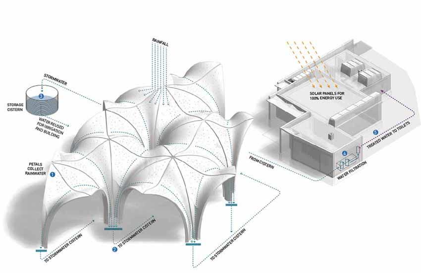 Mẹo sử dụng nước mưa trong các dự án kiến trúc - 3