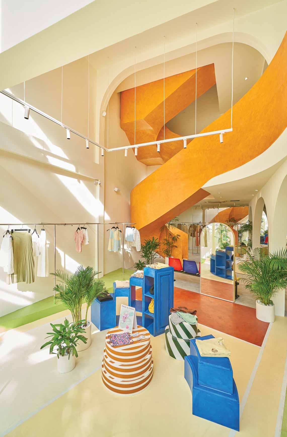 Dấu ấn màu sắc ở một cửa hàng flagship - 11