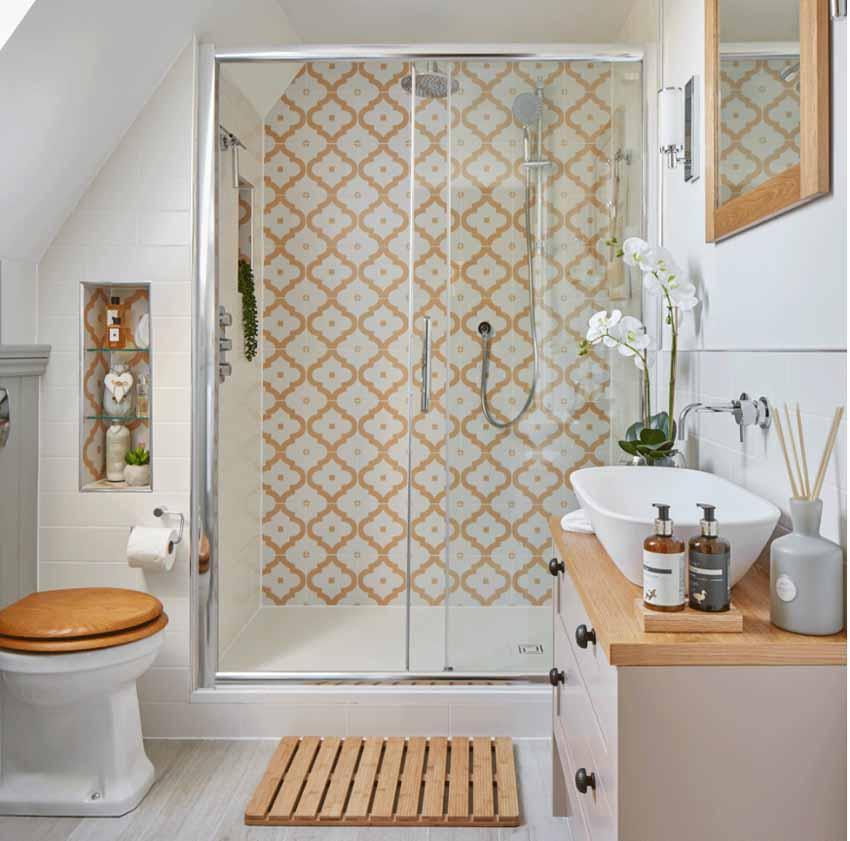 5 ý tưởng phối màu phòng tắm để không gian thư giãn đẹp rạng ngời - 2