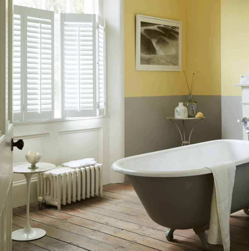 5 ý tưởng phối màu phòng tắm để không gian thư giãn đẹp rạng ngời - 3