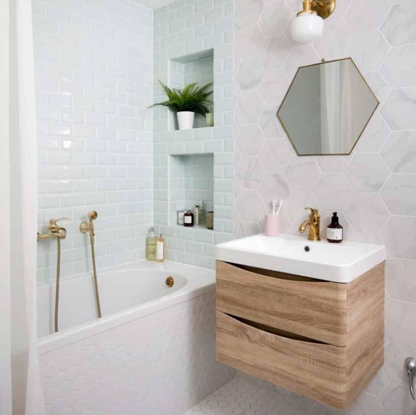 5 ý tưởng phối màu phòng tắm để không gian thư giãn đẹp rạng ngời - 6