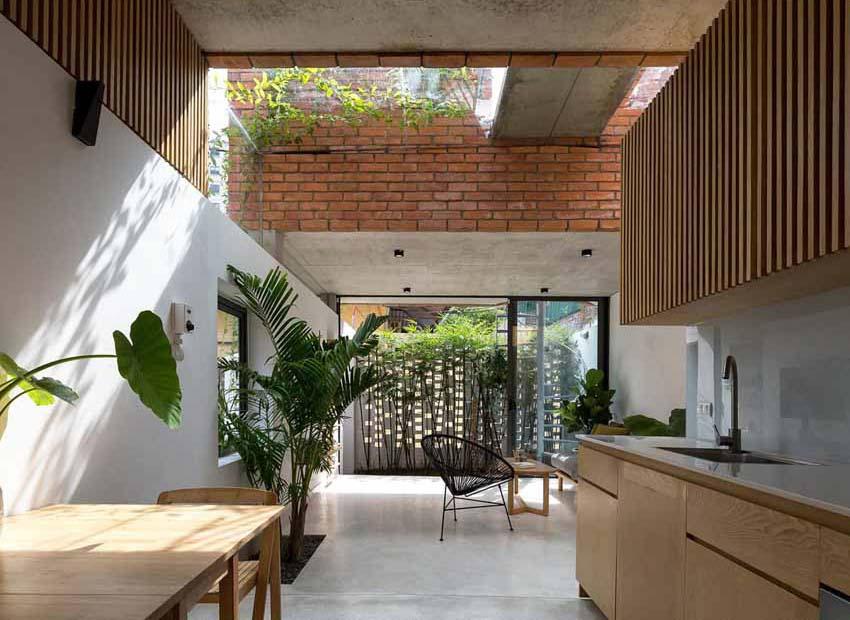 Ngôi nhà ở Hà Nội với không gian ngoài trời trên sân thượng - 4