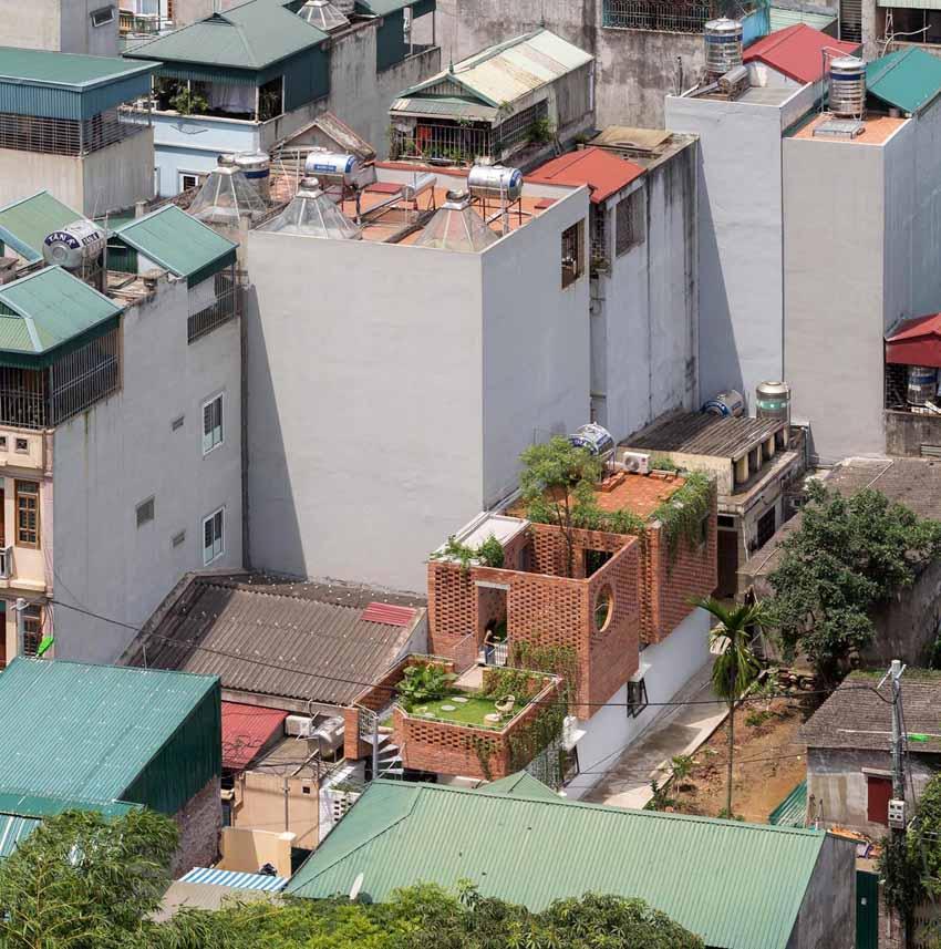 Ngôi nhà ở Hà Nội với không gian ngoài trời trên sân thượng - 6