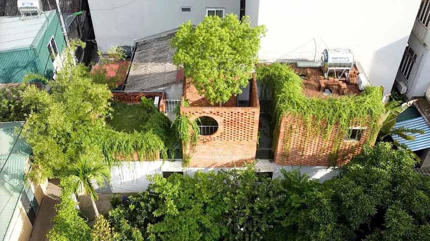 Ngôi nhà ở Hà Nội với không gian ngoài trời trên sân thượng - 9