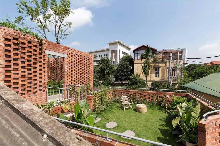 Ngôi nhà ở Hà Nội với không gian ngoài trời trên sân thượng - 10