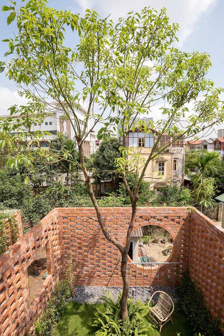 Ngôi nhà ở Hà Nội với không gian ngoài trời trên sân thượng - 11
