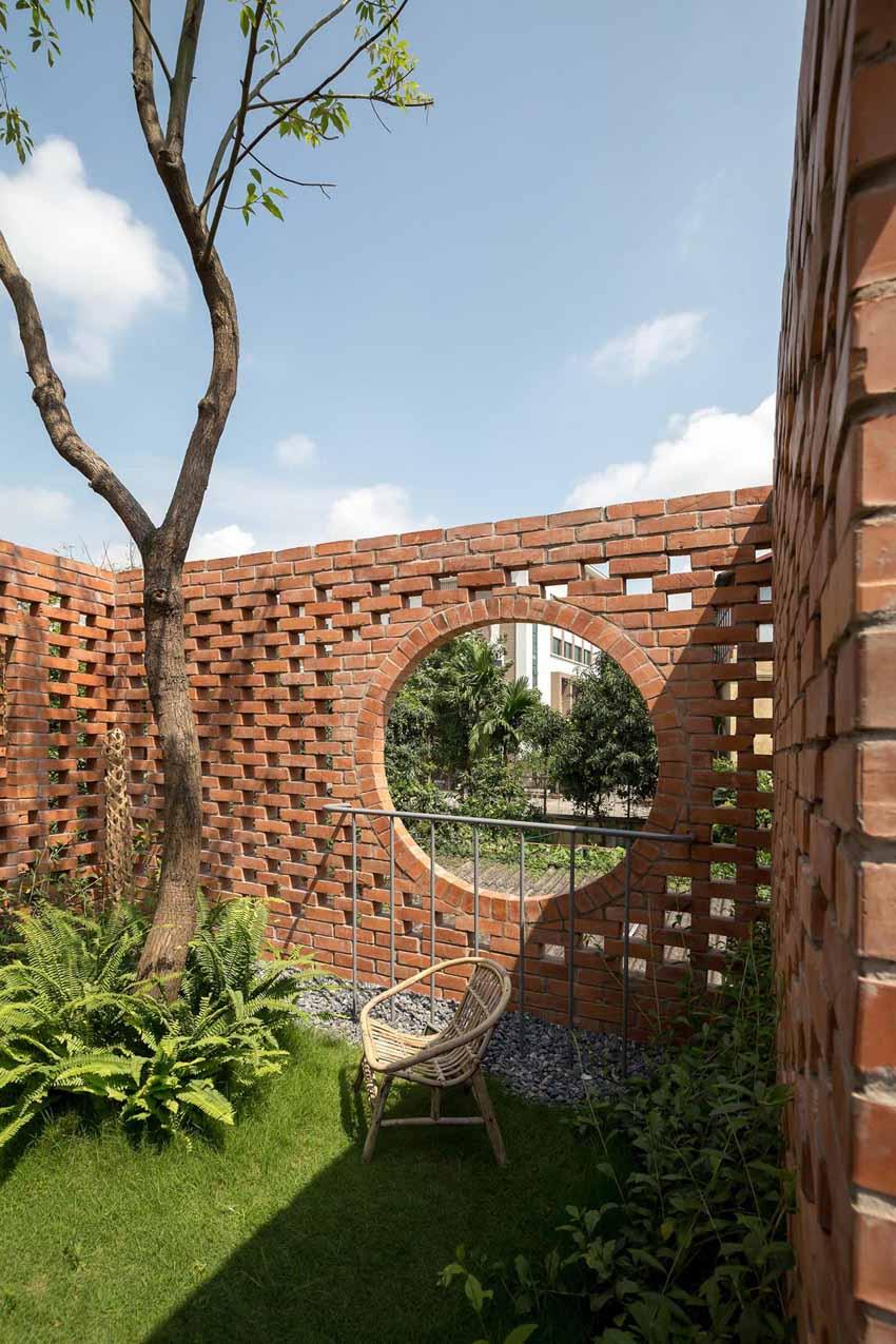 Ngôi nhà ở Hà Nội với không gian ngoài trời trên sân thượng - 12