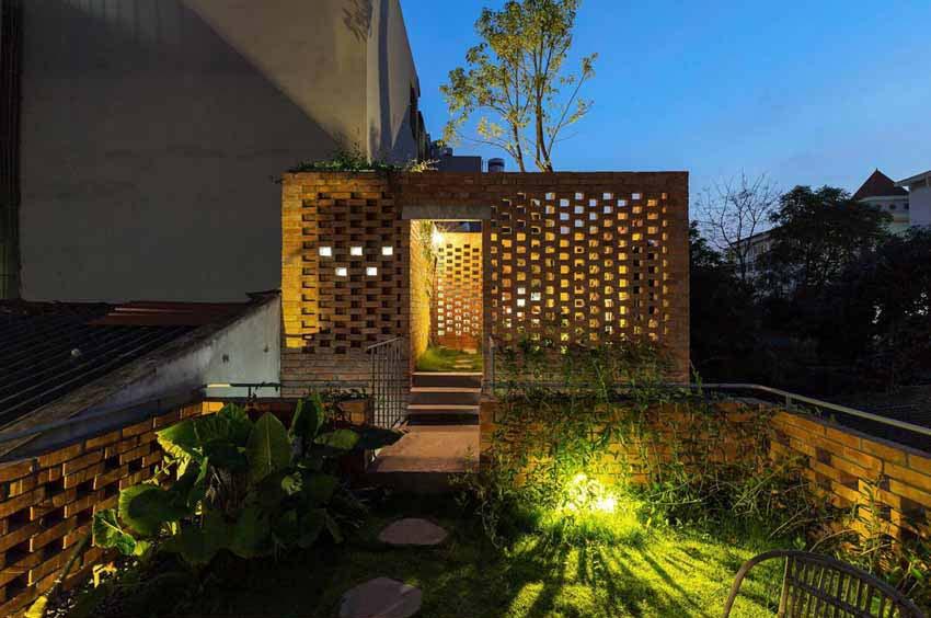 Ngôi nhà ở Hà Nội với không gian ngoài trời trên sân thượng - 13