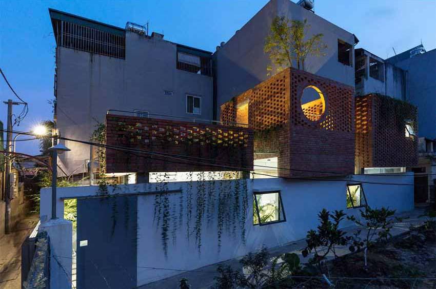 Ngôi nhà ở Hà Nội với không gian ngoài trời trên sân thượng - 14