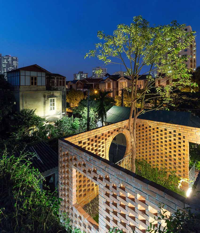 Ngôi nhà ở Hà Nội với không gian ngoài trời trên sân thượng - 15